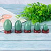 Undrilled Green AventurineYoni Eggs Massage Jade egg to Train Pelvic Muscles Kegel Exercise