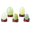 Undrilled Xiuyan Jade Yoni Eggs Massage Jade egg to Train Pelvic Muscles Kegel Exercise