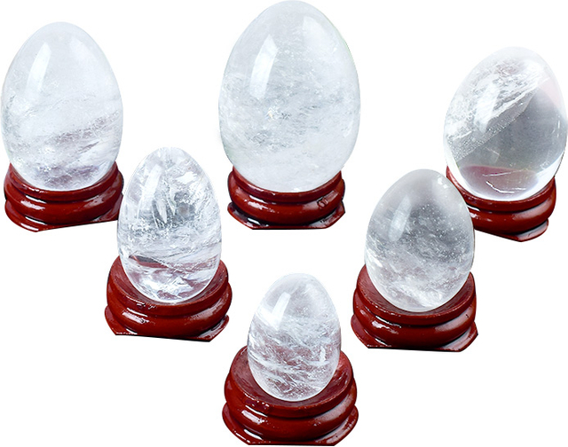Undrilled Rock Quartz Jade Yoni Eggs Massage Stones to Train Pelvic Muscles Kegel Exercise